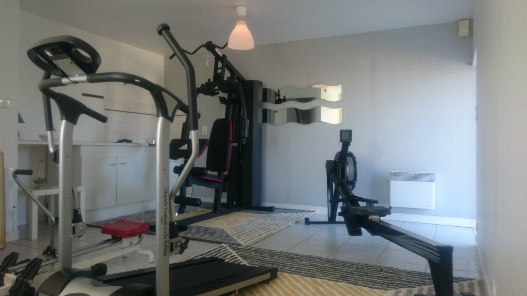 salle de fitness à la résidence ouverte pour vos vacances en Bretagne
