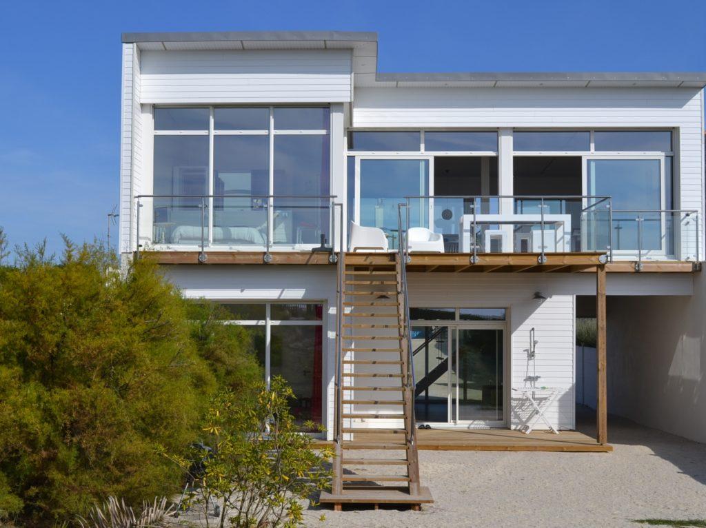 villa sur la plage vacances en bord de mer en Bretagne