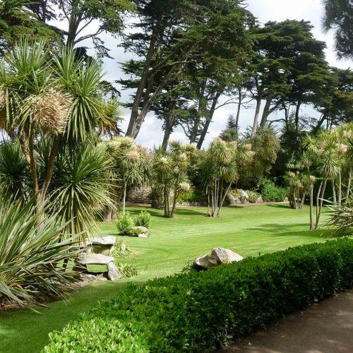 Jardin Georges Delasselle sur l'Ile de Batz