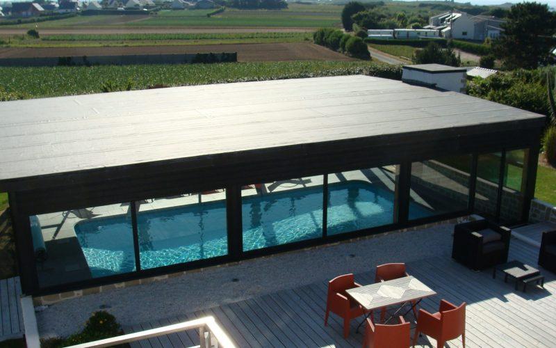 piscine chauffée bretagne location villa