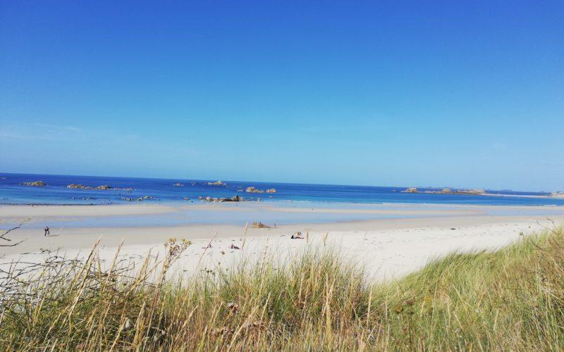 plage des Amiets près de la villa des Dunes