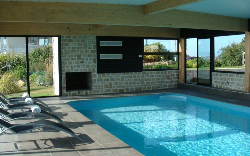 résidence de standing avec piscine pour vos vacances en Bretagne