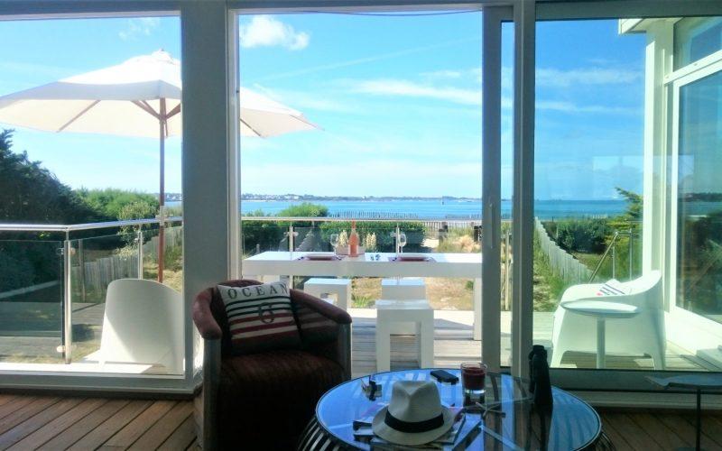 vacances luxe sur la plage en Bretagne