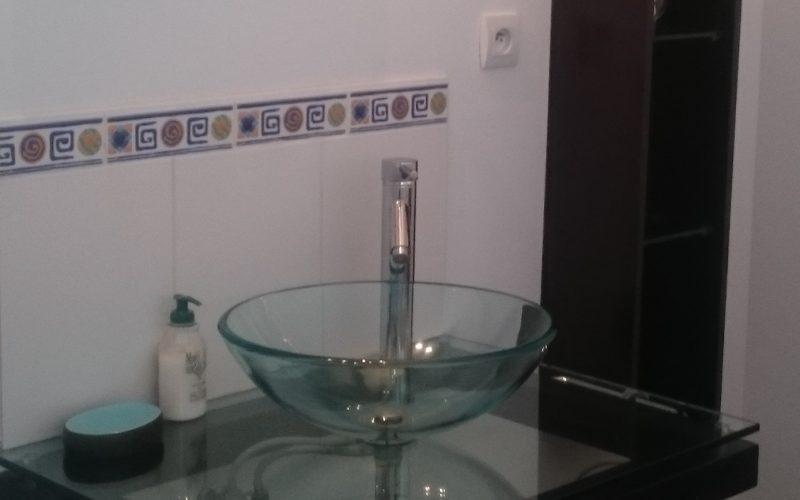 vacances en Bretagne villa de luxe salle de bain